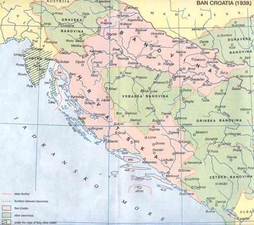 mapa srbije i hrvatske Centralni mit: HRVATSKA STRATEGIJA PODJELE BOSNE I HERCEGOVINE  mapa srbije i hrvatske