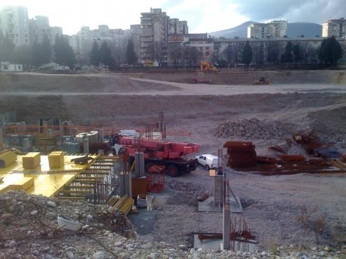 Gradilište dvorana