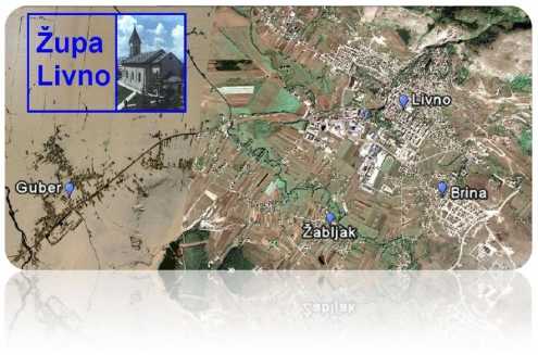 Karta župe Livno