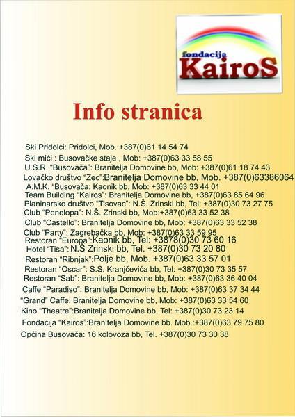 Busovača - Informacije
