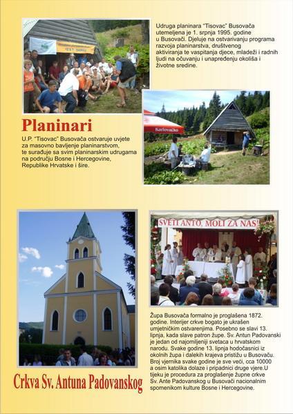 Busovača - Planinari i Sv. Anto