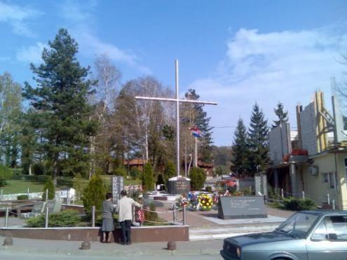 "Spomenik - 115. HVO Brigada ""Zrinski"""