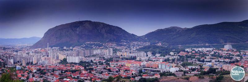 Glavni grad - panorama