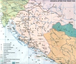 Croatia and Bosnia at the beginning of the 12th century