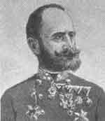 Josip Filipovic, Austrian vice-marshal and Croatian baron, the head of Bosnia and Hercegovina occupation troops