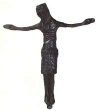 Bronze Crucifix from Mujadzic
