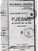 Musa Ćazim Ćatić: Pjesme, 1. knjiga, Mostar 1914.