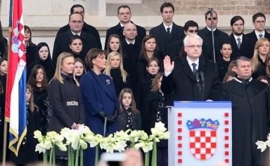Ivo Josipović - inauguracija