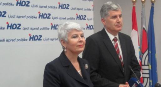 Jadranka Kosor i Dragan Čović