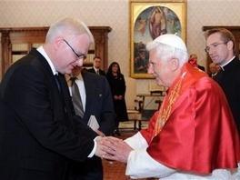 Ivo Josipović i Papa