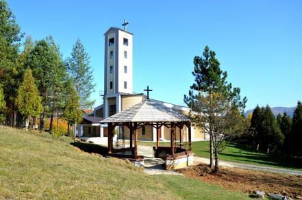 Slikovni rezultat za katolička crkva KOMUŠINA