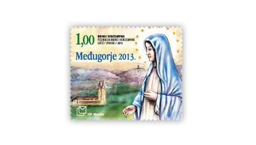 HP Mostar izdao prigodnu poštansku markicu ''Međugorje 2013''