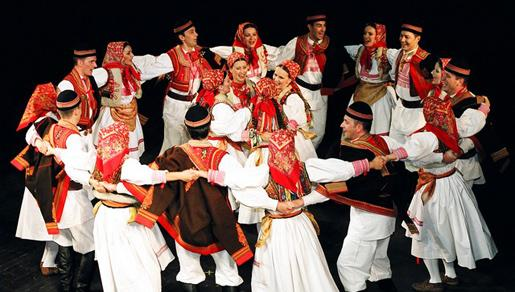 Plesni koncert Ansambla Lado u Neumu