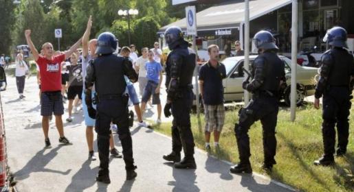 Policija spriječila sukob hrvatskih i srpskih navijača u Vukovaru!