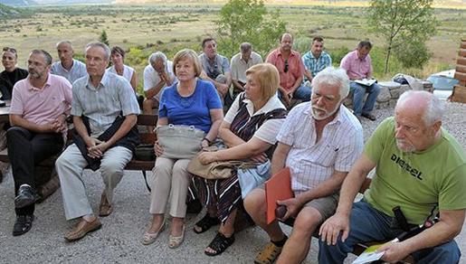Slikarska kolonija u Zavali: Obnovljena stara veza juga Hrvatske i Hercegovine