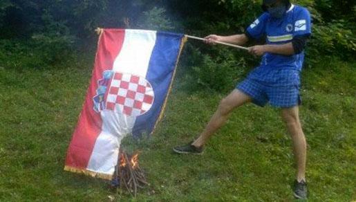 Vijesti Bih U Vitezu Spaljena Hrvatska Zastava U