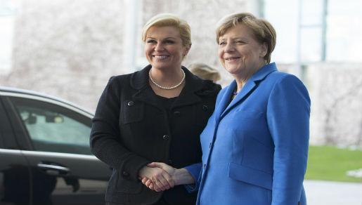 Grabar Kitarović - Merkel