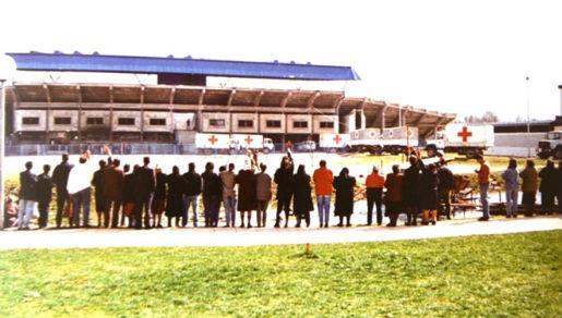 Koncentracioni logor stadion Iskra