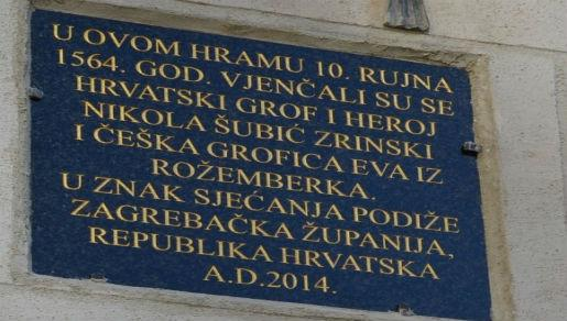 U Češkoj postavljena spomen-ploča Nikoli Šubiću Zrinskom