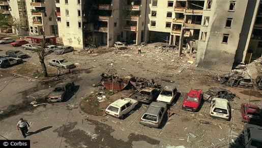 Teroristički napad u Mostaru 1997. - Splitska ulica