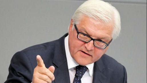 Šef njemačke diplomacije Frank-Walter Steinmeier