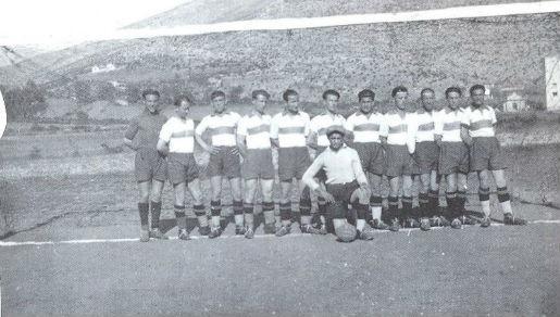 Kod vojarne Sjeverni logor u Mostaru, 1929.