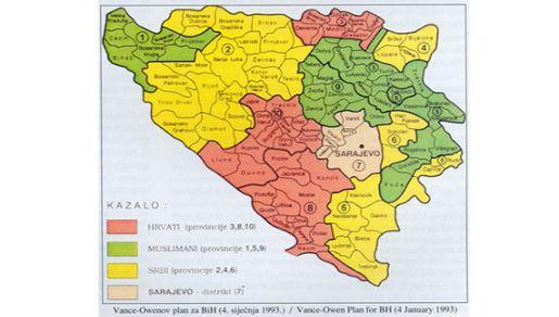 Vance-Owenov plan za BiH - 4. siječnja 1993.